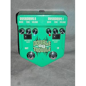 Pre-owned Visual Sound V2DT Double Trouble Dual Overdrive Effect Pedal by Visual Sound