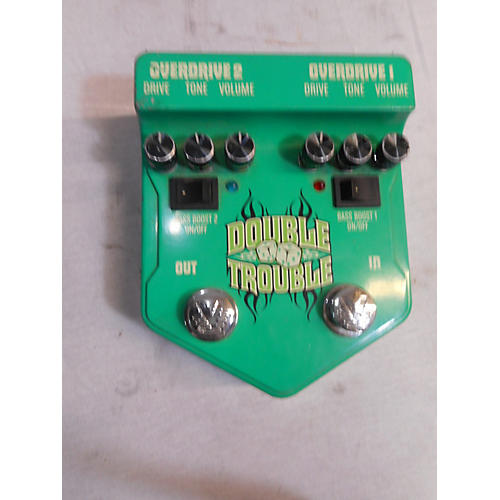 Visual Sound V2DT Double Trouble Dual Overdrive Effect Pedal