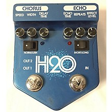 Visual Sound V2H2O V2 H2O Liquid Chorus Echo Effect Processor