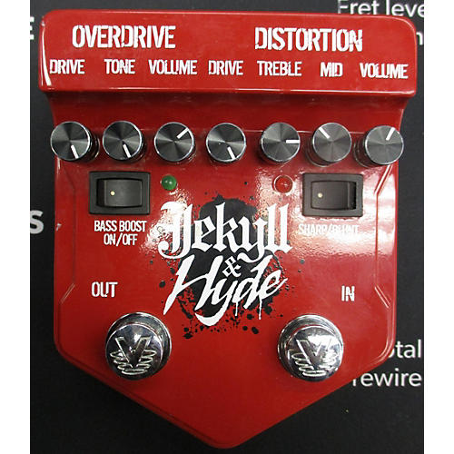 Visual Sound V2JH Jekyll & Hyde Ultimate Overdrive Effect Pedal-thumbnail