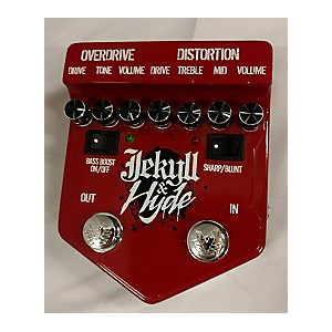 Pre-owned Visual Sound V2JH Jekyll and Hyde Ultimate Overdrive Effect Pedal by Visual Sound