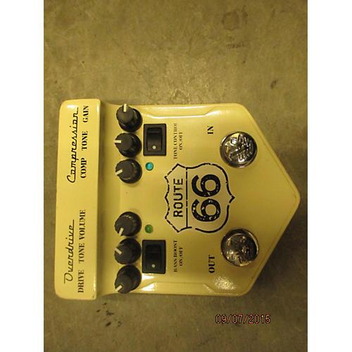 Visual Sound V2RT66 V2 Route 66 Overdrive Compressor Effect Processor-thumbnail