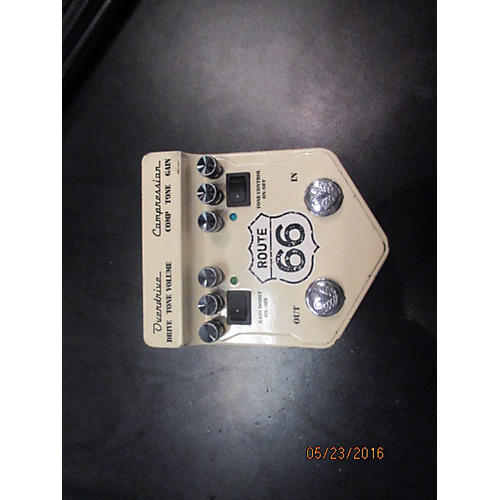 Visual Sound V2RT66 V2 Route 66 Overdrive Compressor Effect Processor