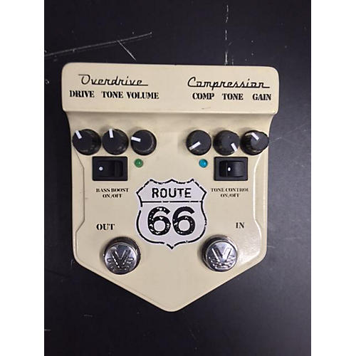 Visual Sound V2RT66 V2 Route 66 Overdrive Compressor Effect Processor-thumbnail