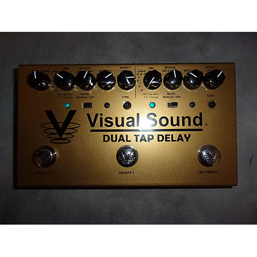 Visual Sound V3DTD Dual Tap Delay Effect Pedal-thumbnail