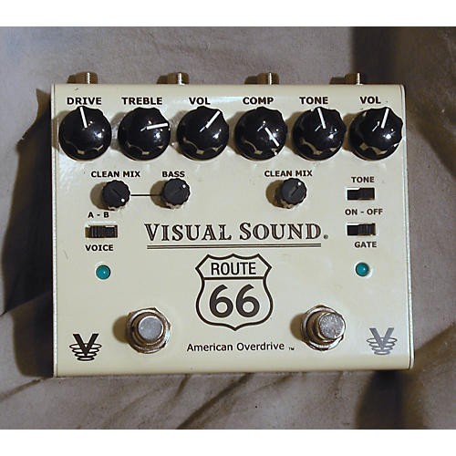 Visual Sound V3RT66 V3 Route 66 Effect Pedal-thumbnail