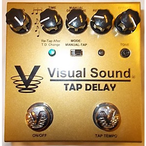 Pre-owned Visual Sound V3SD Single Tap Delay Effect Pedal by Visual Sound