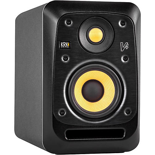 KRK V4 4in Active Studio Monitor with Kevlar Drivers-thumbnail