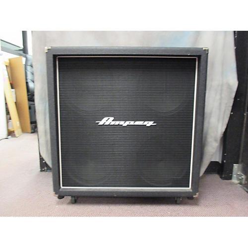 Ampeg V412B Black Guitar Cabinet Black