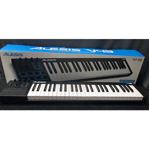 used alesis v49 49 key midi controller guitar center. Black Bedroom Furniture Sets. Home Design Ideas