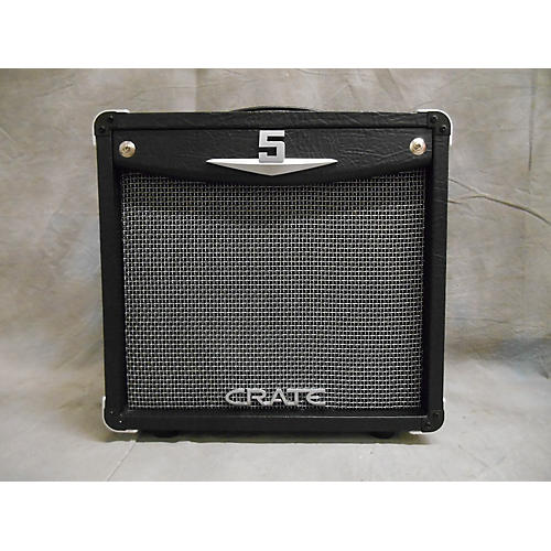 used crate v5 5w 1x5 tube guitar combo amp guitar center. Black Bedroom Furniture Sets. Home Design Ideas