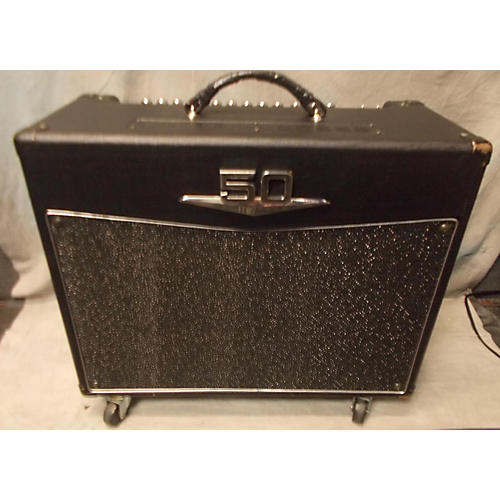 used crate v50 50w 1x12 tube guitar combo amp guitar center. Black Bedroom Furniture Sets. Home Design Ideas