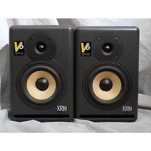 KRK V6 Pair Powered Monitor