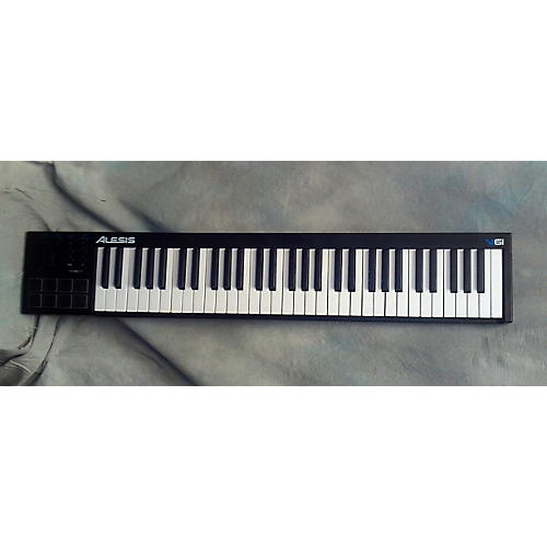 used alesis v61 61 key midi controller guitar center. Black Bedroom Furniture Sets. Home Design Ideas