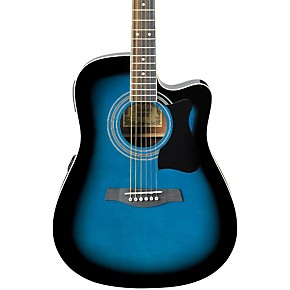 ibanez v70ce acoustic electric guitar black guitar center. Black Bedroom Furniture Sets. Home Design Ideas
