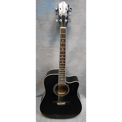 Ibanez V70CE Black Acoustic Electric Guitar