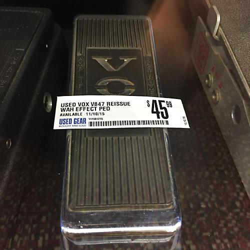 Vox V847 Reissue Wah Effect Pedal-thumbnail