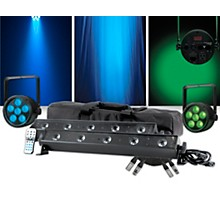 ADJ VBAR Pak with Venue ThinTri38 Pair Lighting Package
