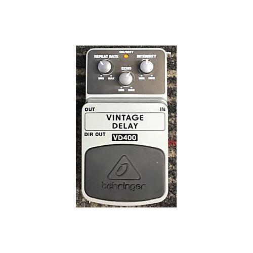 Behringer VD400 Vintage Delay Effect Pedal-thumbnail