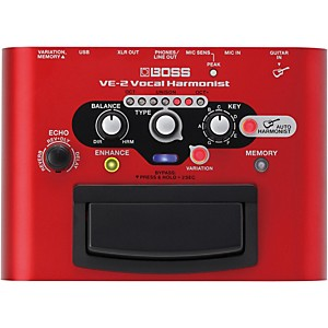 Boss VE-2 Vocal Harmonist Multi-Effects Pedal by Boss