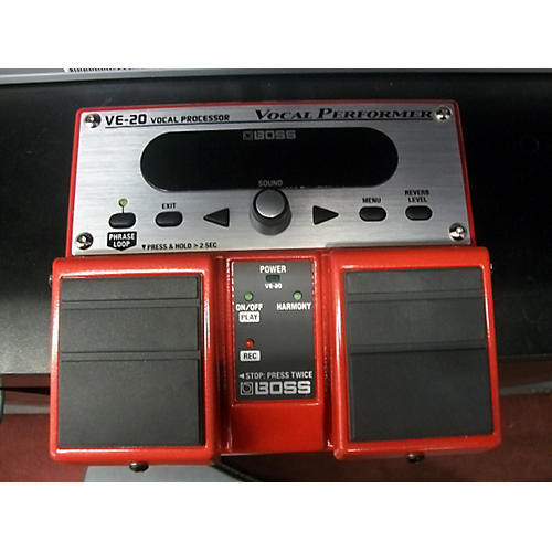 Boss VE-20 Vocal Processor Effect Pedal