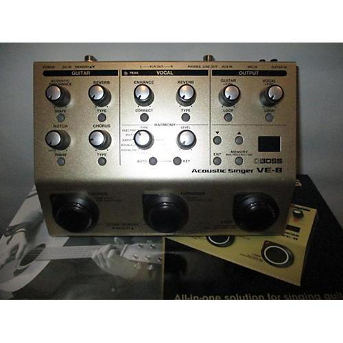 Boss VE-8 ACOUSTIC SINGER Effect Processor