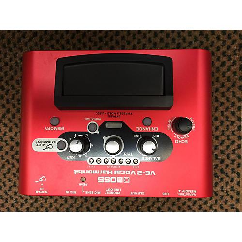 Boss VE2 Vocal Harmonist Effect Processor-thumbnail