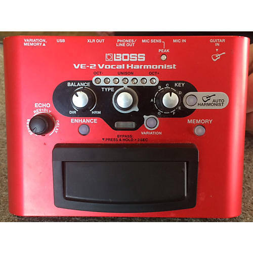 Boss VE2 Vocal Harmonist Effect Processor