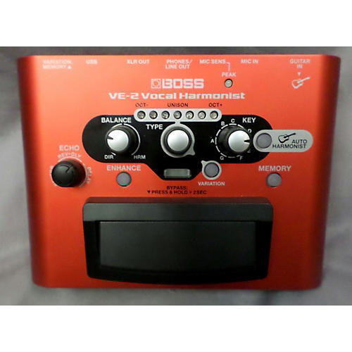Boss VE2 Vocal Harmonist Effect Processor