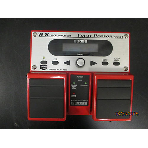 Boss VE20 Vocal Performer Vocal Processor-thumbnail