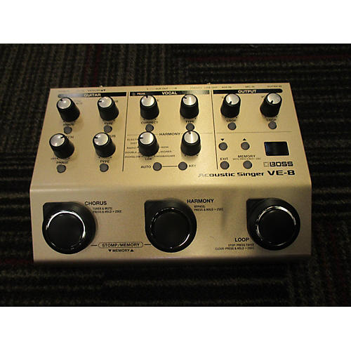 Boss VE8 Vocal Harmonist Effect Processor