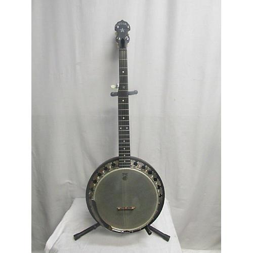 used deering vega banjo natural guitar center. Black Bedroom Furniture Sets. Home Design Ideas