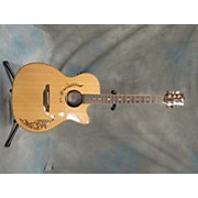 Luna Guitars VG SIG VICKI GENFAN Acoustic Electric Guitar