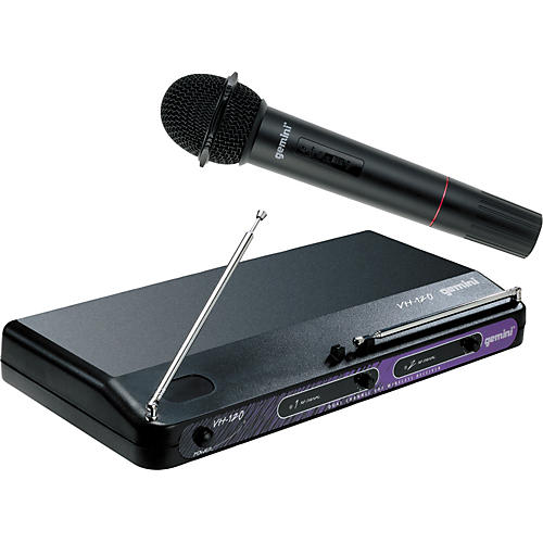 Gemini VH-120M Wireless Microphone System-thumbnail