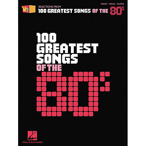Hal Leonard VH1 100 Greatest Songs of the '80s Piano, Vocal, Guitar Songbook-thumbnail