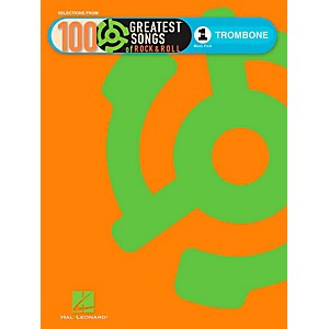 Hal Leonard VH1s 100 Greatest Songs Of Rock and Roll Trombone Book Only