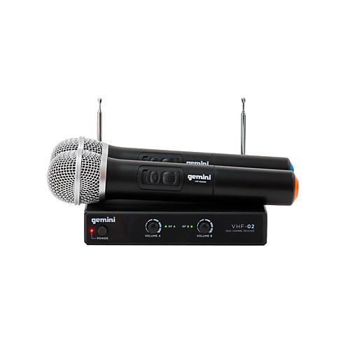 Gemini VHF-02M Dual Handheld Wireless System S48