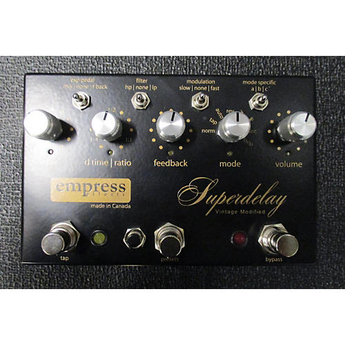 Empress Effects VIMSD Vintage Modified Superdelay Effect Pedal-thumbnail