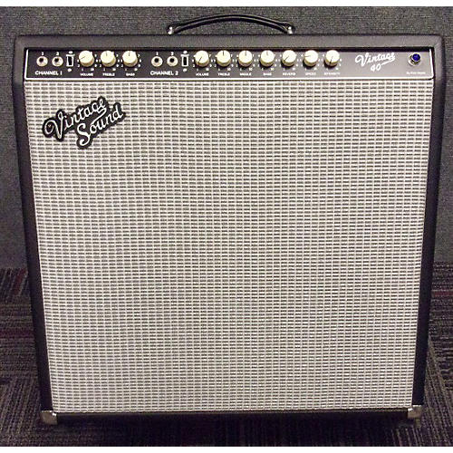 In Store Used VINTAGE 40 4X10 Tube Guitar Combo Amp-thumbnail