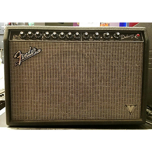 Fender VINTAGE MODIFIED DELUXE Tube Guitar Combo Amp-thumbnail