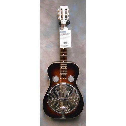 Dobro VINTAGE ROUNDNECK Resonator Guitar 2 Tone Sunburst