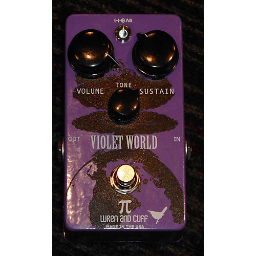Wren And Cuff VIOLET WORLD Effect Pedal