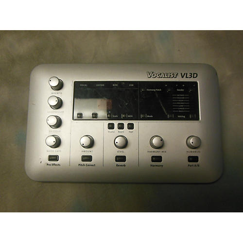 Digitech VL3D Vocalist Desktop Harmony Vocal Processor