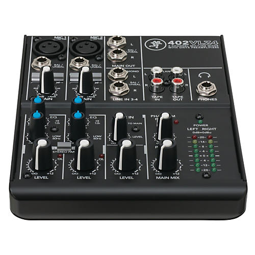 Mackie VLZ4 Series 402VLZ4 4-Channel Ultra Compact Mixer-thumbnail