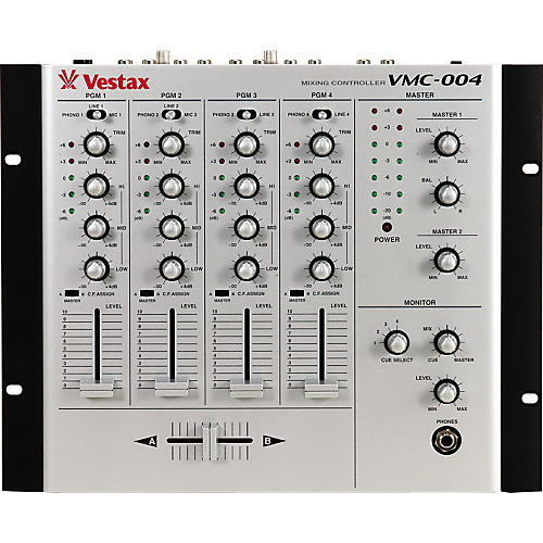 Vestax VMC-004 Four Channel DJ Mixer