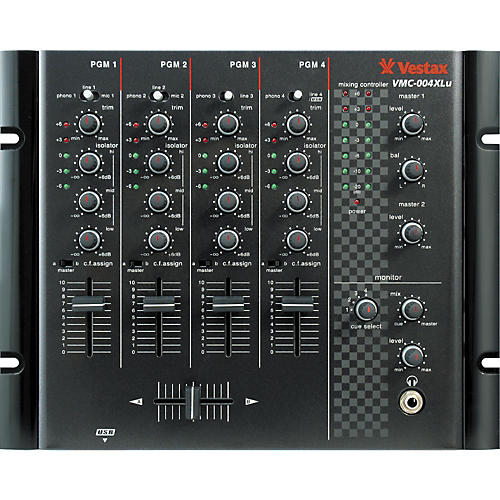 Vestax VMC-004XLu 4-Channel USB DJMixer-thumbnail