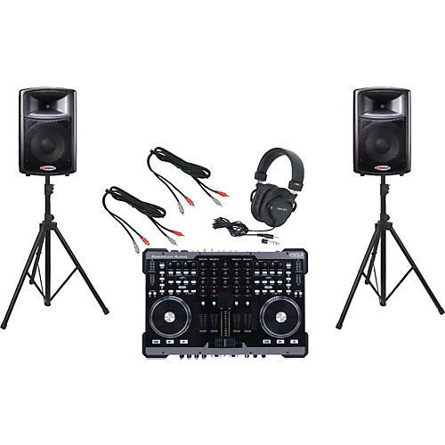 American Audio VMS4 / Harbinger APS12 DJ Package-thumbnail