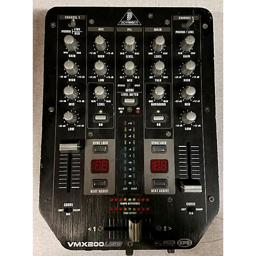 Behringer VMX200USB DJ Mixer-thumbnail
