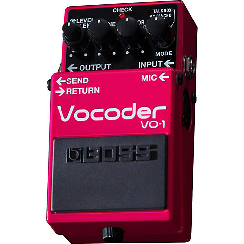 Boss VO-1 Vocoder Effects Pedal-thumbnail