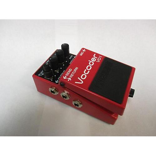 used boss vocoder vo 1 effect pedal guitar center. Black Bedroom Furniture Sets. Home Design Ideas